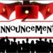 Announcement – 26th Sept. 2021